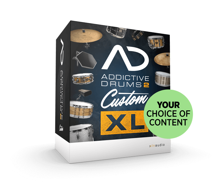 Addictive Drums 2 Custom XL