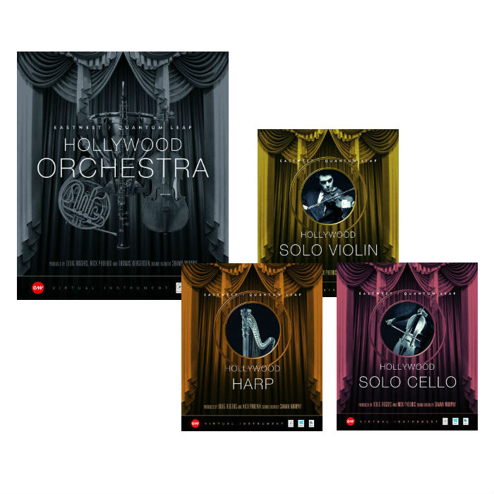 Hollywood Orchestra Gold & Solo Goldバンドル