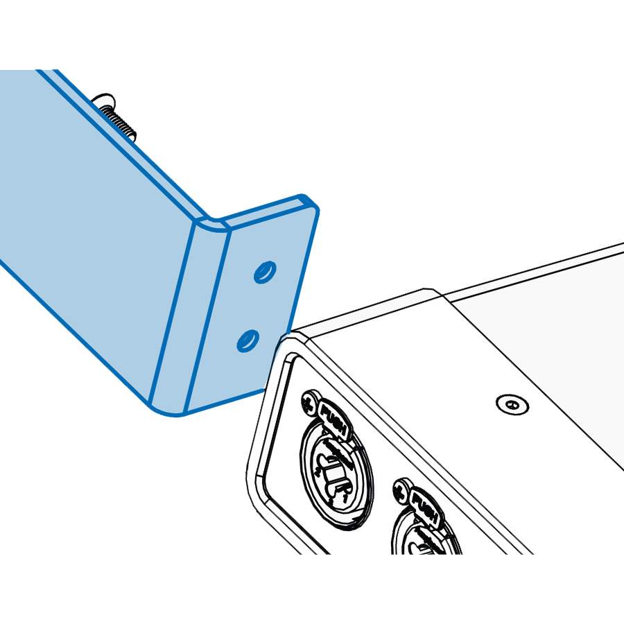 UltraLite-mk5 Half-Rack Mounting Kit